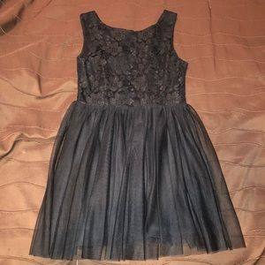 Forever 21 Little Black Mini Dress (Size Large)